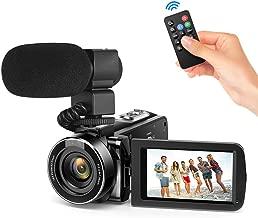 Andoer Video Camera Camcorder, Digital Video Camcorder FHD 1080P Video Camera Infrared Night Vision 3.0