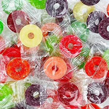 Life Savers Hard Candy Assorted Wrapped Bulk 2 Lbs 10 FLAVOR MEGA ASSORTMENT! Watermelon Pineapple Cherry Apple Mango Fruit Punch Strawberry Raspberry Grape & Tangerine!
