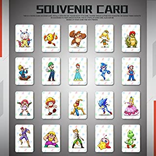 NFC Game Card, Mario Kart 8 Deluxe Standard NFC Cards - 20 PCS Set for Switch