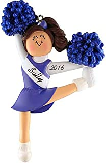 Best cheerleader christmas ornaments personalized Reviews