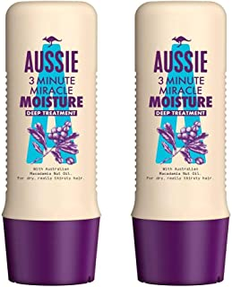 Aussie 3 minute Miracle Moisture Deep Conditioner (pack of 2) - for more fabulously refreshed hair.