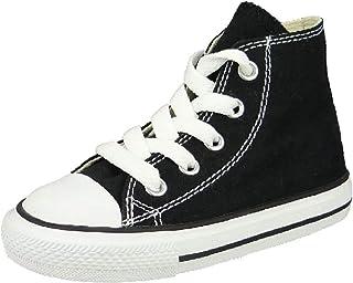 Toutes Les Chaussures Star Kids Black Canvas 7J231C
