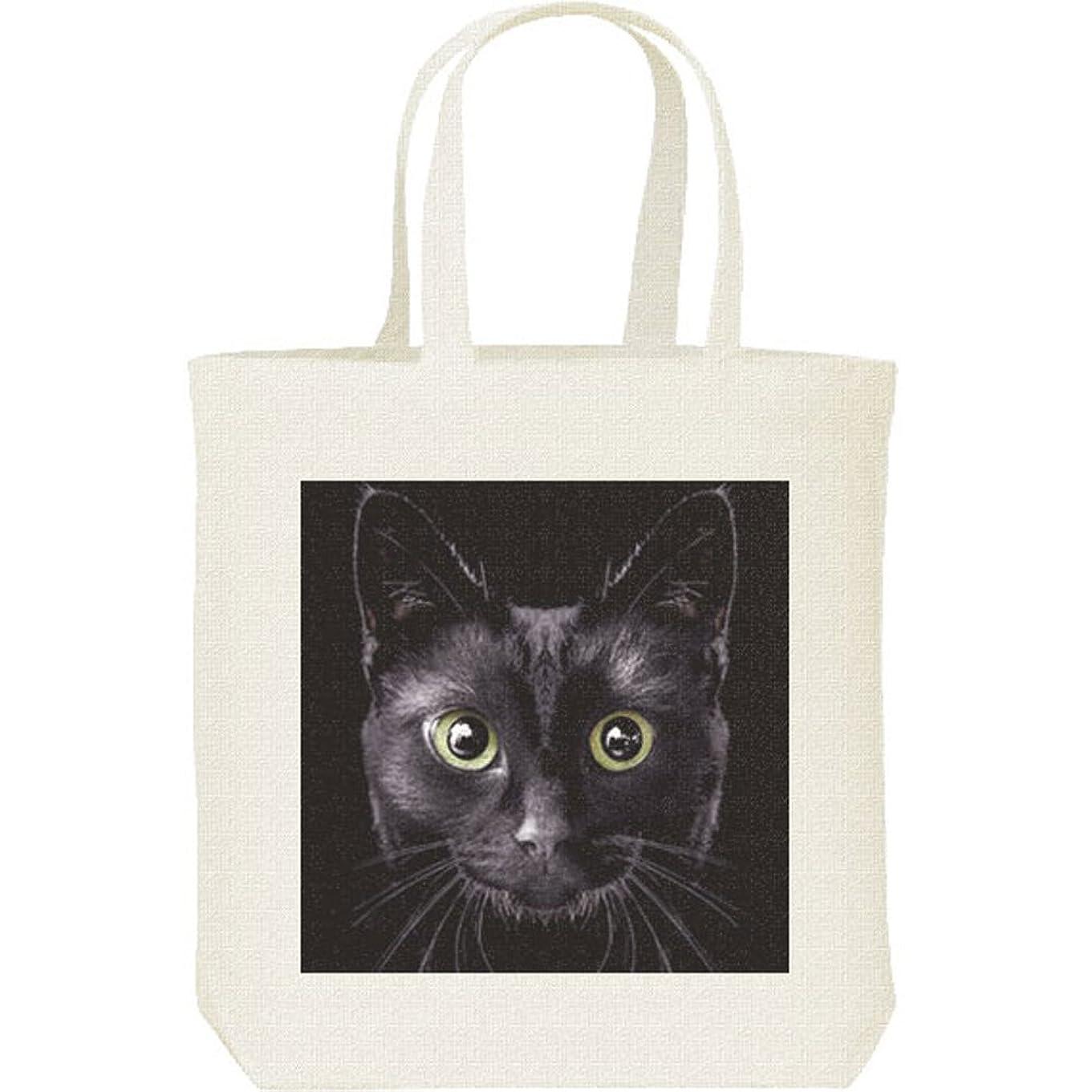二層顧問負エムワイディエス(MYDS) 暗闇の黒猫/キャンバス M トートバッグ