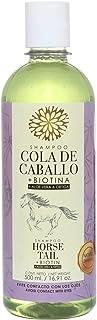 Shampoo Cola de Caballo Biotina, Aloe Vera y Ortiga 500 ml. Natural Shampoo.