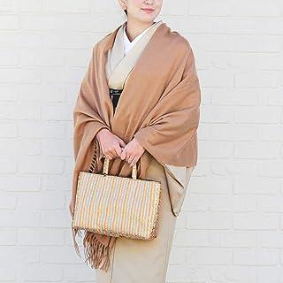 カシミヤ ショール 大判 着物 100% カシミアショール 和装 着物用 ストール