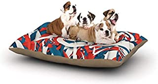 "Kess InHouse Danny Ivan""USA"" World Cup Fleece Dog Bed, 30 by 40-Inch"