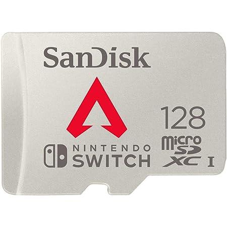 サンディスク microSD 128GB ApexLegends ライセンス品 Nintendo Switch動作確認済 SanDisk UHS-I U3 SDSQXAO-128G-GH3ZY