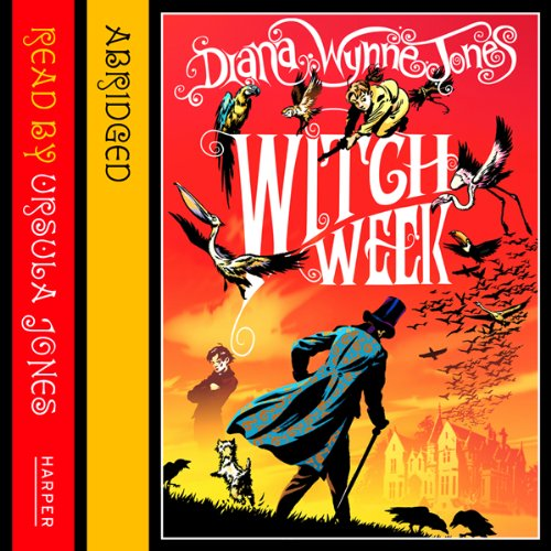 Witch Week     The Chrestomanci Series              By:                                                                                                                                 Diana Wynne Jones                               Narrated by:                                                                                                                                 Ursula Jones                      Length: 2 hrs and 55 mins     32 ratings     Overall 4.7
