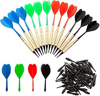 GSE Games & Sports Expert Soft Tip Darts for Electronic Dart Board. 60 of Free Dart Tips & Storage Bag Included