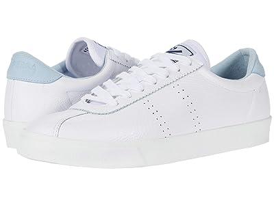 Superga 2843 Comfleau (White/Light Blue) Women