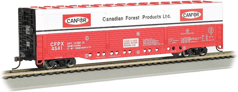 Bachmann Industries HO Scale Evans AllDoor Box Car  Canadian Forest  4541