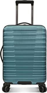 U.S. Traveler Boren Polycarbonate Hardside Rugged Travel Suitcase Luggage with 8 Spinner Wheels, Aluminum Handle, Teal, Ca...