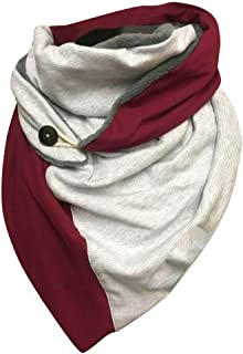 catmoew Bufanda para Mujer Caliente Mantas Larga Mantón Invierno Pañuelo Bufandas Mujer invierno Cuellos Mujer Chal 155 * ...