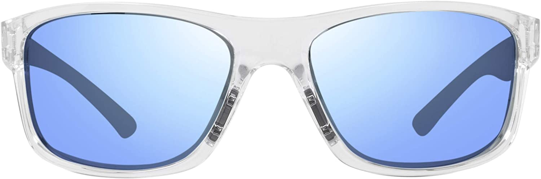 Revo Sunglasses Harness: Polarized Lens Filters UV, Rectangle Sport Wrap Frame