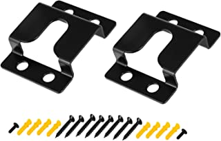 Bedycoon Wall Mount Brackets for VIZIO Sound bar sb3851-c0 sb3851-d0 sb3651-e6 sb3651-f6 sb4451-c0 s4251w-b4 SB4051-C0 SB4051-D5 Set Bracket Kit with Mounting Screws