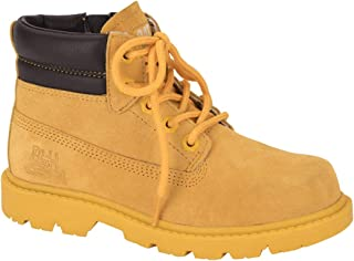 Caterpillar Yellow Lace Up Boot For Boys