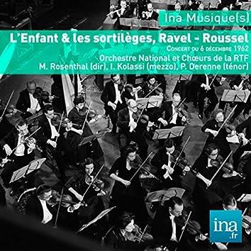 L'Enfant & les sortilèges, Ravel - Roussel, O. National et Choeurs de la RTF