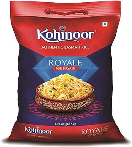 Kohinoor Authentic Royale Biryani Basmati Rice 5 Kg Special Biryani Rice