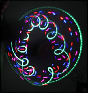 Rob's Super Happy Fun Store LED Spinning Orbit Rave Light Show - Emerald City Lights Orbital
