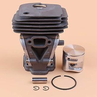 Tiempo Beixi Los 44MM Cilindro de pistón Kit Compatible con Husqvarna 445 445E 450 450E JONSERED CS2245 CS2245S CS2250 Motosierra Motor Engine Reconstruir Parts