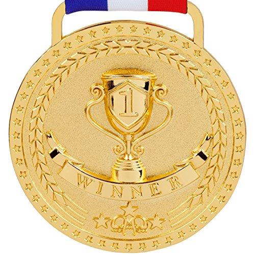 Prestige Palace Awards 1st Place Winner Gold Award Medal, Bright Gold