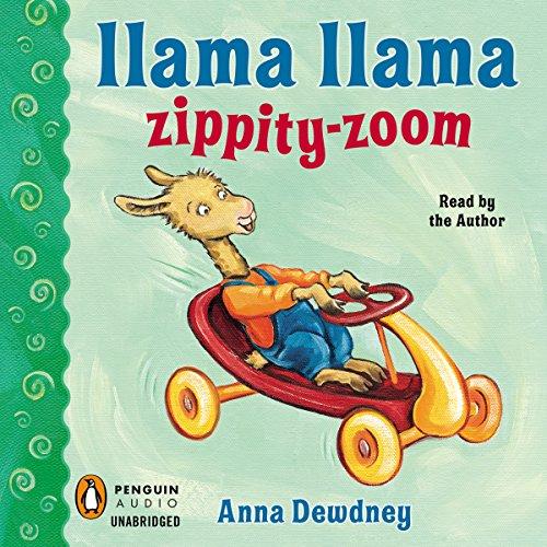 Llama Llama Zippity-Zoom! audiobook cover art