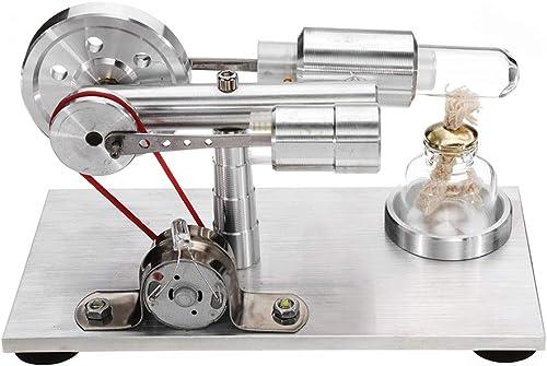 VIDOO Stirling Moteur Modèle Moteur Cadeau Science Physique Laboratoire Jouet