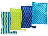 Ice Pack for Lunch Boxes - 4 Reusable Packs - Classic Prints -...