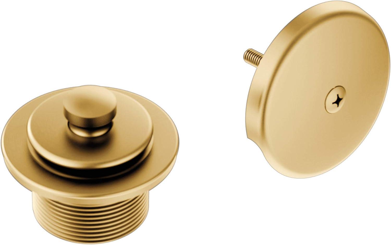 Moen T90331BG supreme Push-N-Lock Tub and Shower In Drain 1-1 favorite with Kit 2