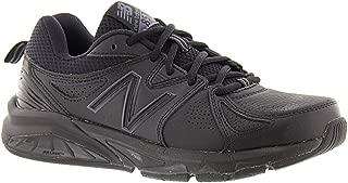 New Balance Women's 857 Cross Training Shoes, Black, 8 US