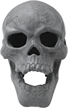 Stanbroil 9-Inch Imitated Human Skull Gas Log for Indoor or Outdoor Fireplaces, Fire Pits Halloween Decor, 1-Pack