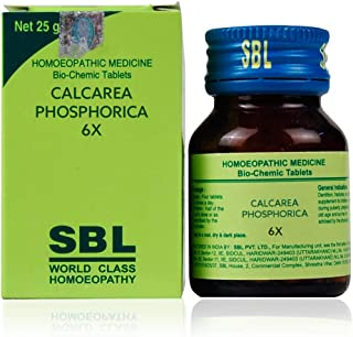 (Pack of 2) SBL CALCAREA PHOSPHORICA 6X 25g New Best