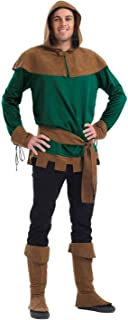 Mens Robin Hood Costume Adults Scarecrow Samurai Victorian Zorro Outfits