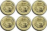 Bormioli Rocco: 'quattro stagioni coperchi * 7 cm (70 mm) Diametro (confezione da 6)