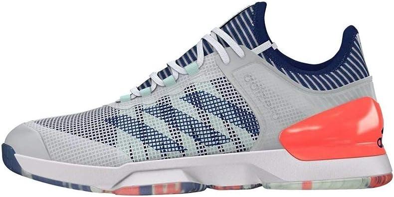 jazz canal Inapropiado  Amazon.com | adidas Adizero Ubersonic 2 Tennis Shoes - SS20-11 - Green |  Tennis & Racquet Sports