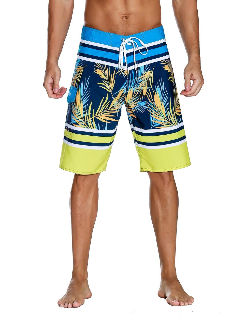 Unitop Surfing Shorts Quick Yellow