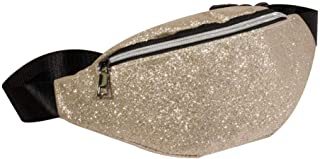 Women's Fanny Pack,Bling Sequins Shoulder Bag Messenger Bag Chest Crossbody Bag by-NEWONESUN