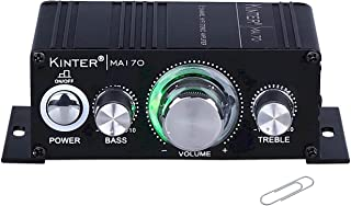 Kinter MA170 12V 2 Channel Mini Digital Audio Power Amplifier for Car or Mp3