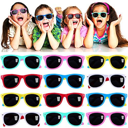 12pcs Neon Sunglasses for Kids