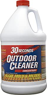 30 SECONDS Outdoor Cleaner, 1 Gallon - Concentrate (Pack of 4)