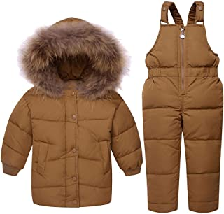 Glaiidy Chaqueta para niños Moda Abrigo de Invierno para niños Lindos Bebé niña Niño Chaqueta de Invierno Chaqueta de Plum...