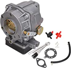 MNJWS 693480 Carburetor Carb Replacement Fit for Briggs & Stratton 400417 400437 400447 400707 400777 401411 401415 401417 401431 401437 401707 Engine Replace # 495181 396634 491429 394352 393297