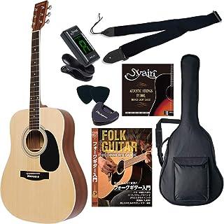 HONEY BEE ハニービー アコースティックギター ウエスタンギタータイプ W-15/N 初心者入門リミテッドチューナーセット[クリップチューナー]