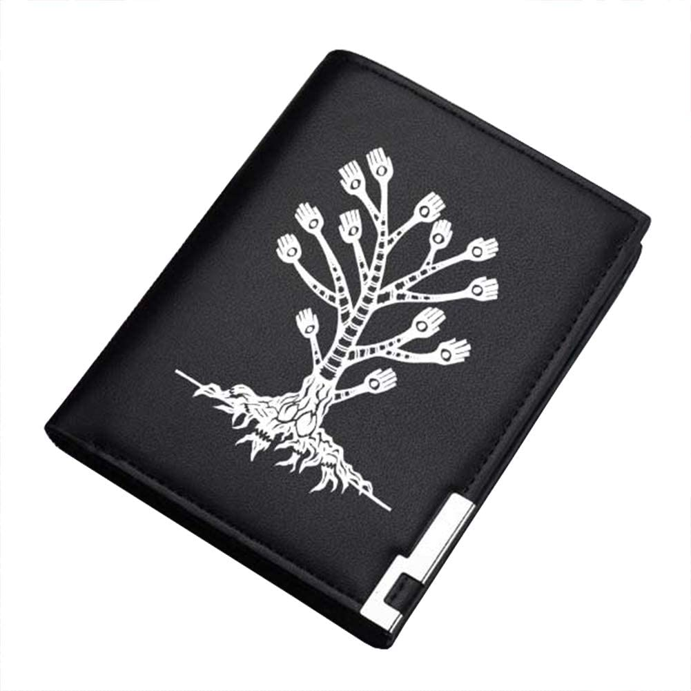 Gumstyle SCP Anime Artificial Leather Wallet Billfold Money Clip Bifold Card Holder 5 A