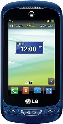 LG Xpression C410 QWERTY Keyboard Slider Cellphone GSM Unlocked - Bulk Packaging - Blue