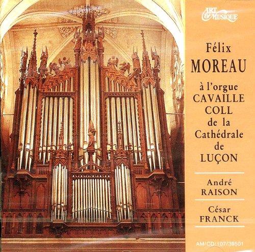 Félix Moreau À lOrgue de la Cathdrale de Luçon (Vendée)
