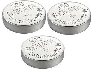 Pile de Montre de Renata Renata Fait-Swiss 380 ou SR936SW 1.5V (3 x 380 ou SR 936 SW)