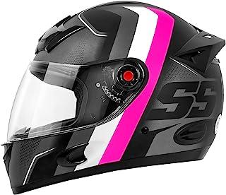 Capacete MIXS MX5 Super Speed 56 Cinza/Rosa