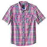 KAVU Men's Coastal Button Down Shirts, House Party, Medium