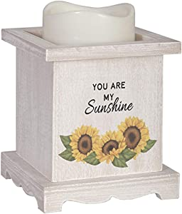 Carson Sunshine Décor Flameless Candle